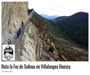 Foz de Salinas Huesca Ruta Enduro MTB
