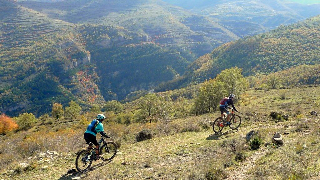 ruta Enduro Mtb La Rioja perfil-luezas-trevijano 2