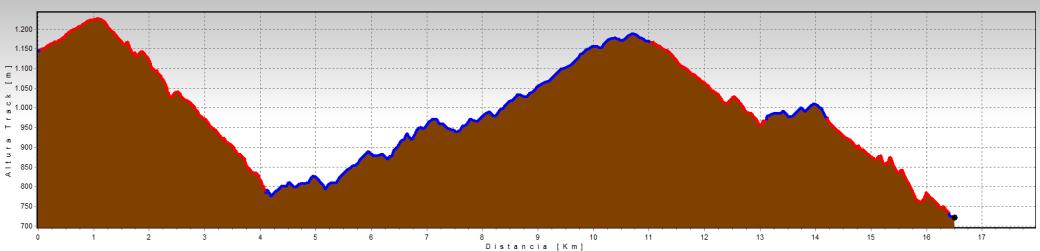ruta Enduro Mtb La Rioja perfil-luezas-trevijano