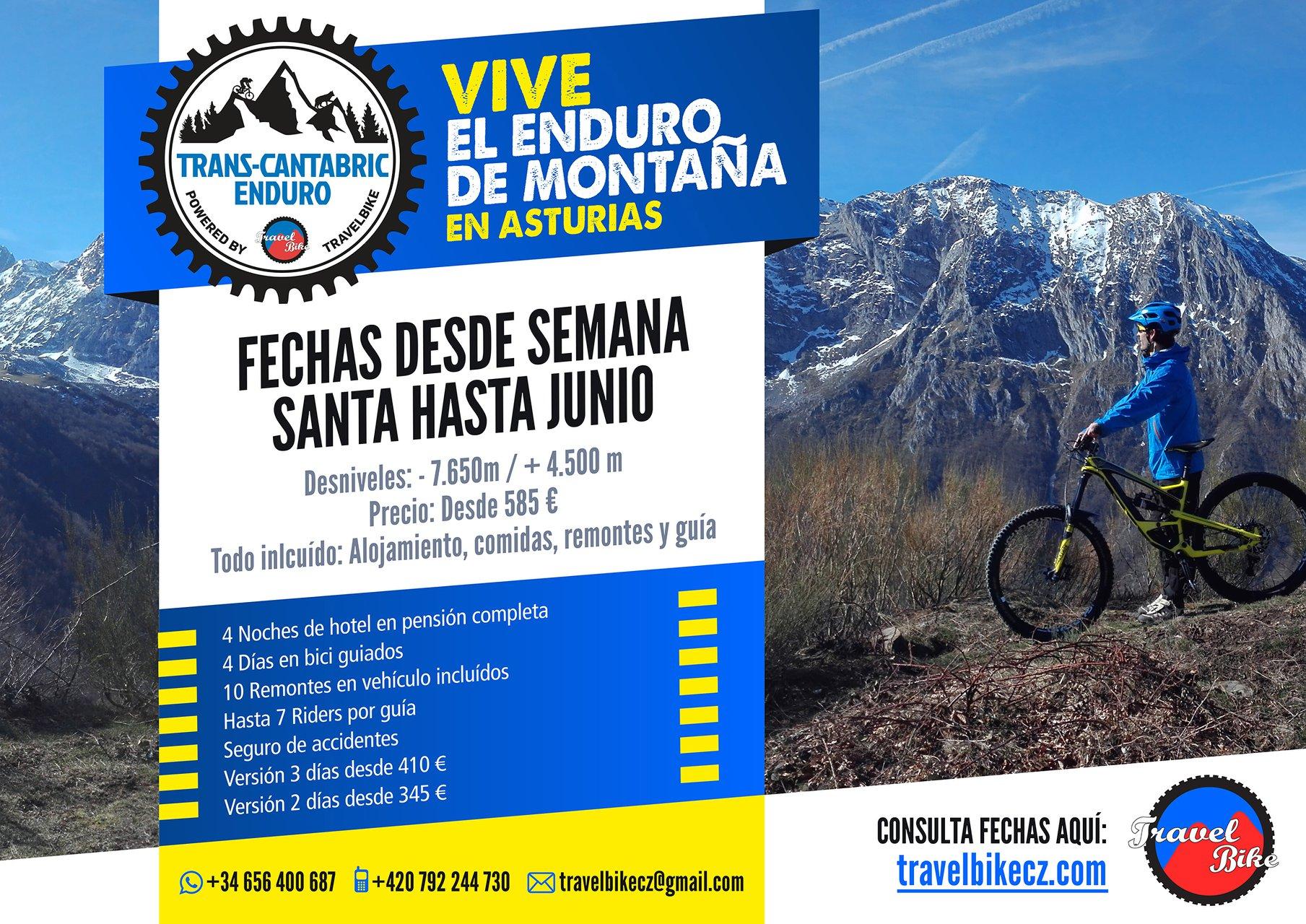 travelbike transcatabria enduro mtb