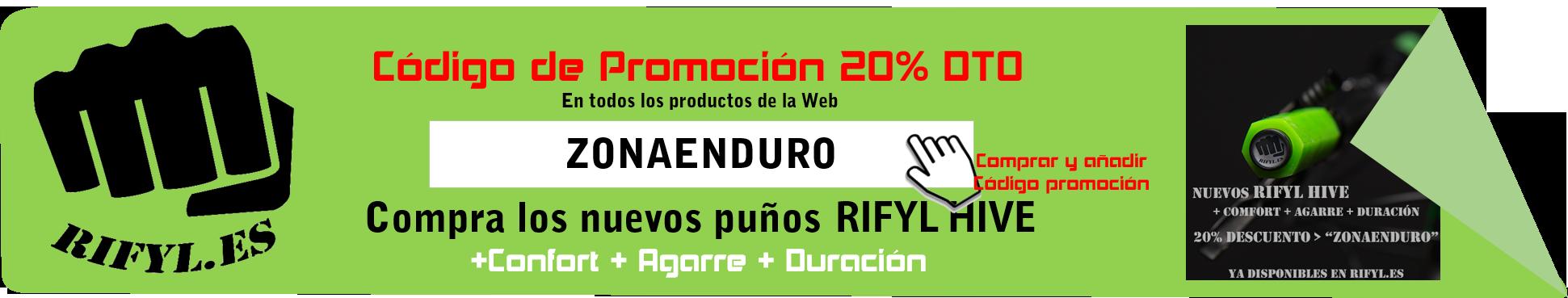 Puños Enduro MTB Ryfil Hive