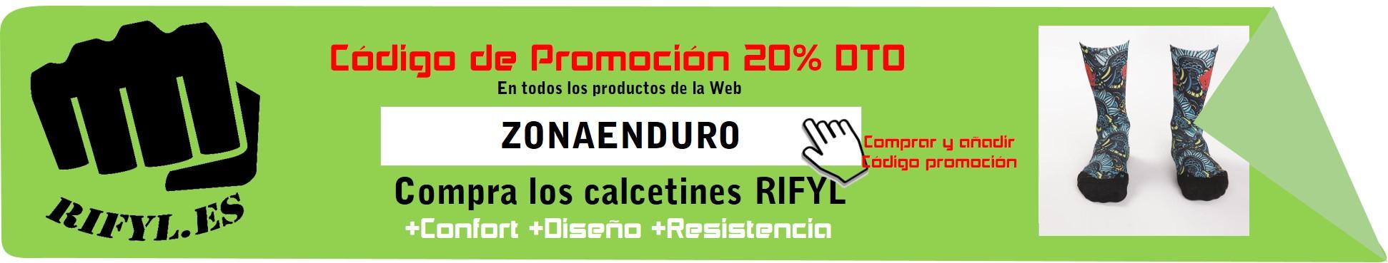 Calcetines Rifyl Promoción ZonaEnduro