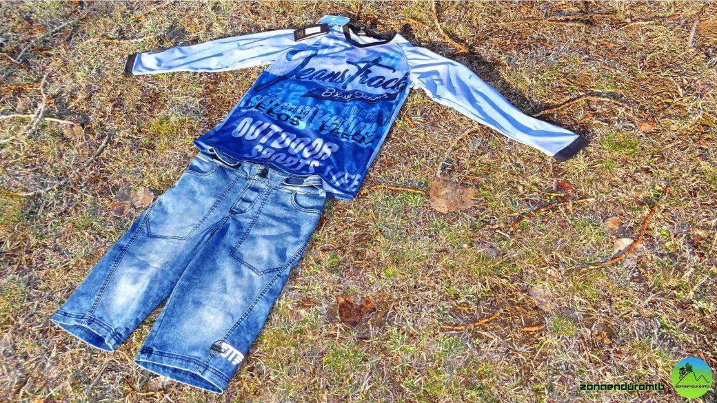 Pantalón Camiseta JeansTrack