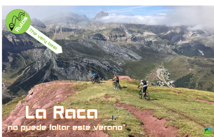 La Raca ruta mtb Pirineo