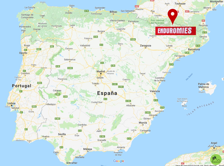 enduromies mapa españa